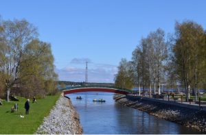 Strömsundkanal Frühjahr